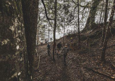 Wanderung Kinder Urwald