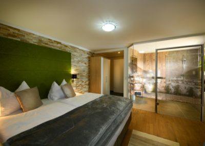 Das barrierefreie Zimmer im Landhotel Anna